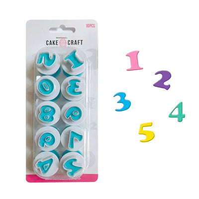 Number Plunger Cutter Set