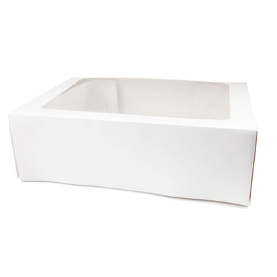 "Rectangle Cake Box 16"" x 20"" x 6""- Includes Separate Lid"