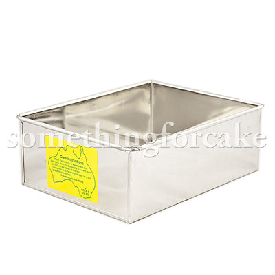 Rectangle Cake Tins- Click to View Sizes