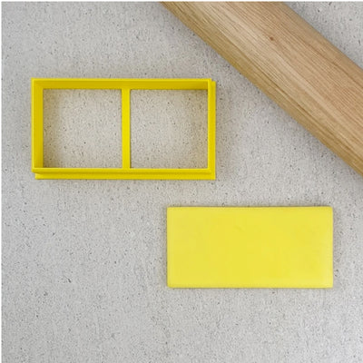 Cookie Cutter - Rectangle-  80 x 40mm
