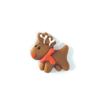 Royal Icing Reindeer Decorations-  12 pack