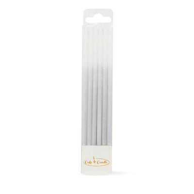 Ombre Candles- Silver