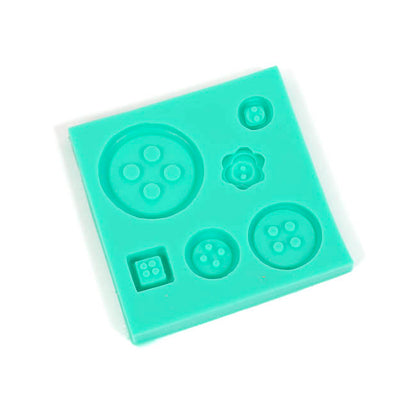 Silicone Mould - Small buttons