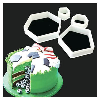Soccer Ball Hexagon and Pentagon Cutter Set