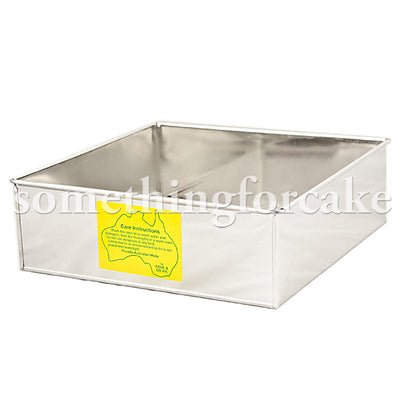 Square Cake Tin - Click to view Sizes