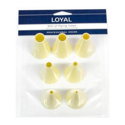 Loyal Thermo Piping Tubes Set - Round Tips