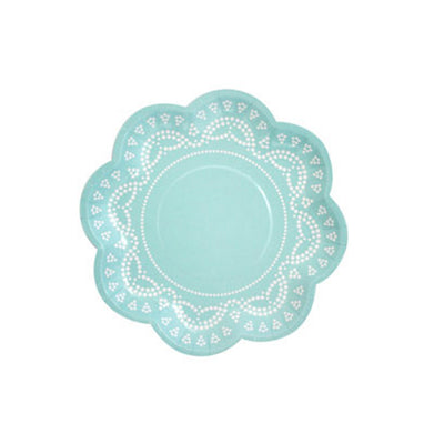 Tiffanesque Lovely Lace Party Plates