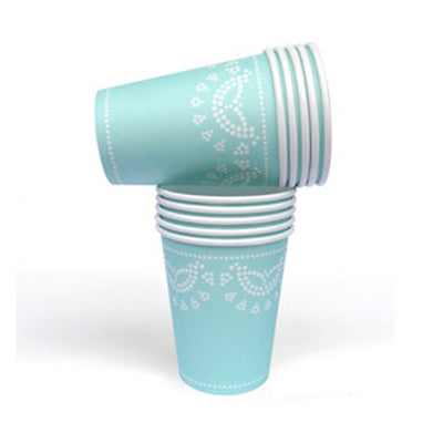 Tiffanesque Lovely Lace Party Cups
