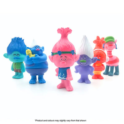 Trolls Cake Topper Set