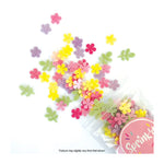 Sprink'd Wafer Paper Shapes Decorations - Mini Daisy Flowers