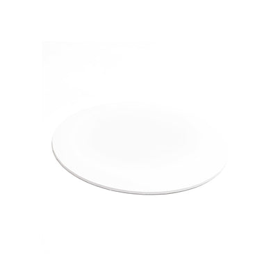 White MDF Cake Board - Round- CLICK TO VIEW SIZES