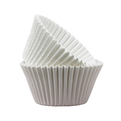 Large Cupcake papers - White
