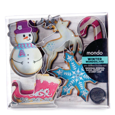 Mondo Cookie Cutter Set - Winter Wonderland