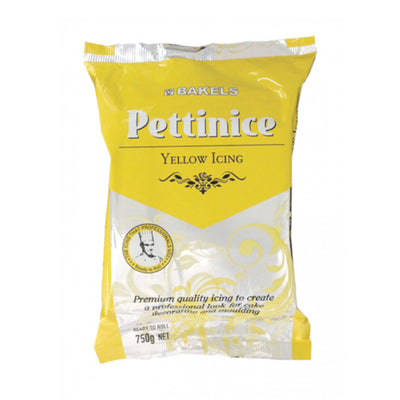 Pettinice Yellow Fondant