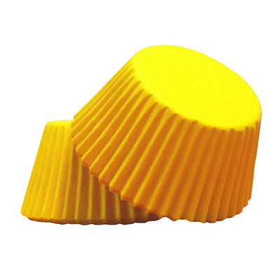 Large Cupcake papers - Yellow