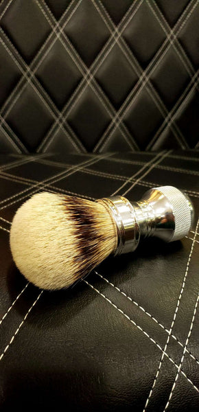Aluminum Badger Hair Shaving Brush
