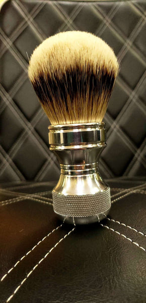 Aluminum Shaving Brush Badger Hair