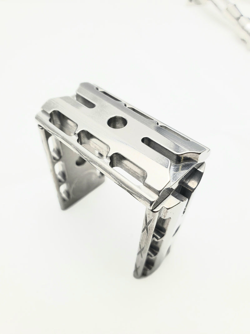 N075 SS Baseplate only option:  303 Stainless Steel baseplate ( Vibro-Machined) Finish, Made in USA :  $80