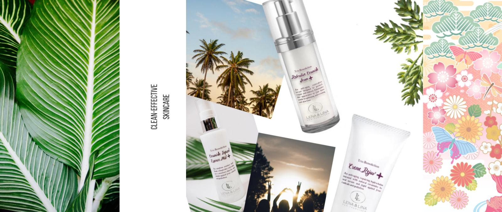 Lena & Lina San Francisco Premium Japanese Skincare Collection - Hydrating, Brightening & Age-Defying - Effective & Luxurious Skin care | JBEAUTY