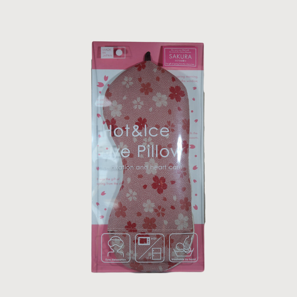Hot & Ice Eye Pillow For Relaxation - Sakura Cherry Blossom