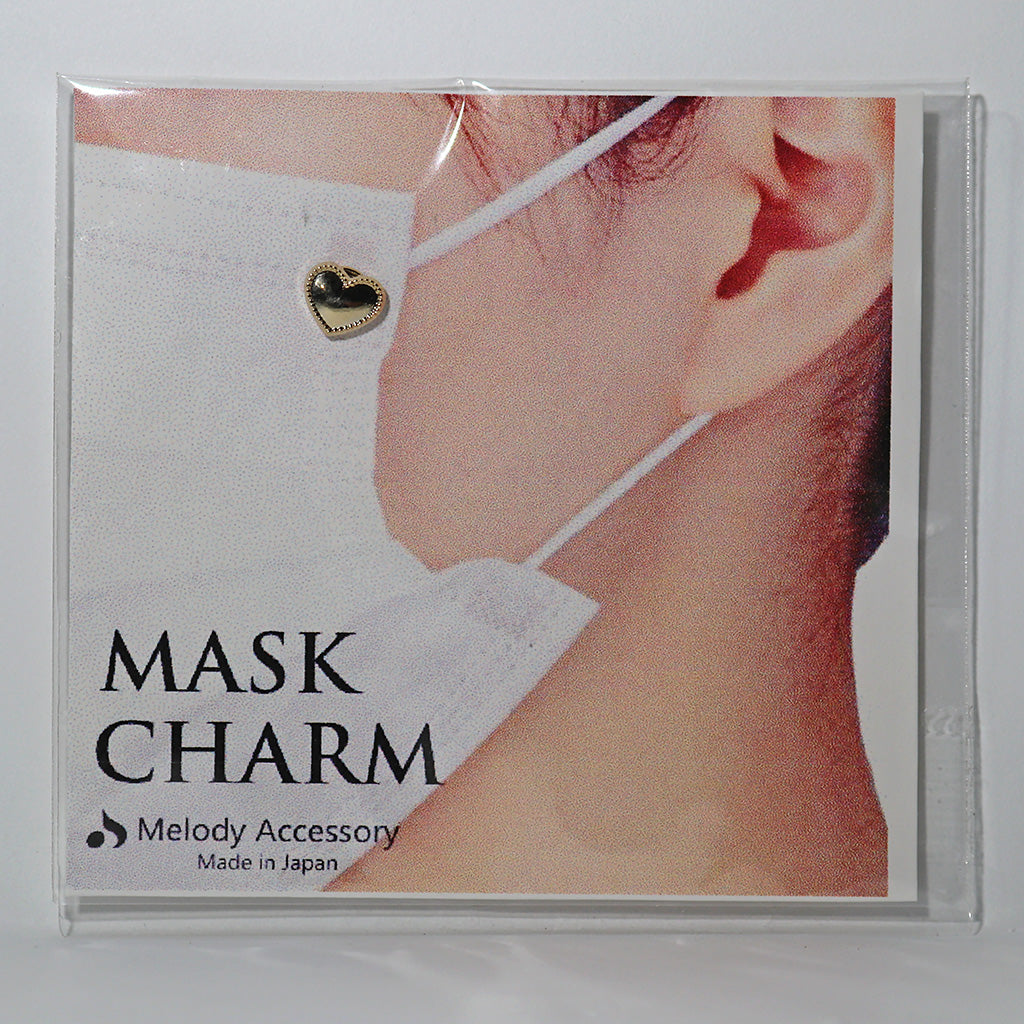 Face Mask Charm - Heart