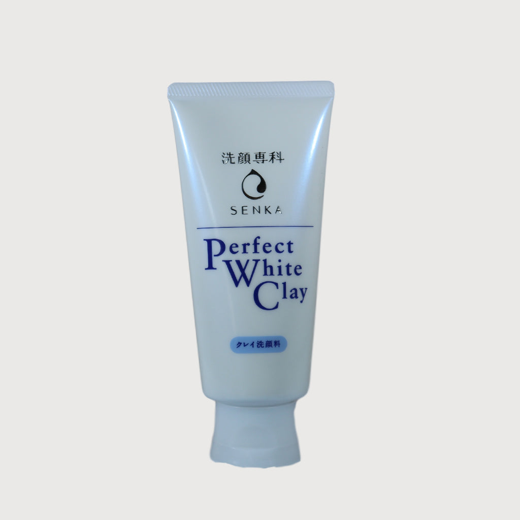 Shiseido Senka Perfect White Clay Cleansing Foam 120g
