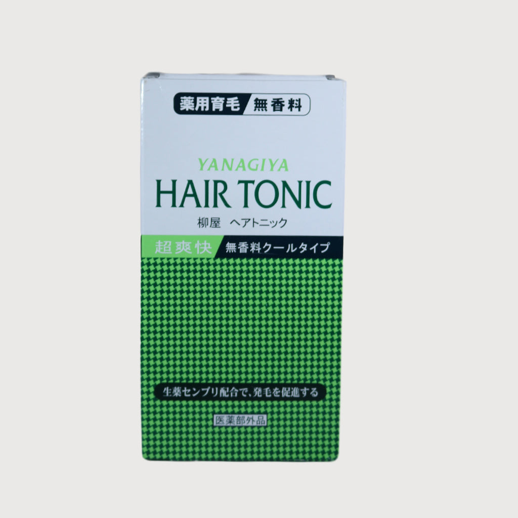 Yanagiya Hair Tonic Fragrance Free- 240 ml