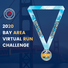 Load image into Gallery viewer, Bay Area Virtual Run Challenge