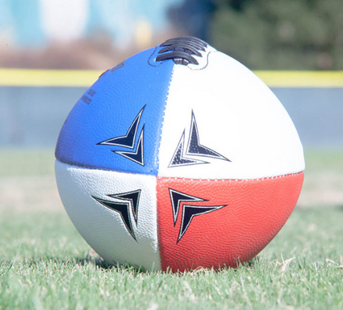 The White/Blue Football