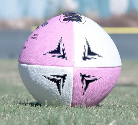 The White/Pink Football