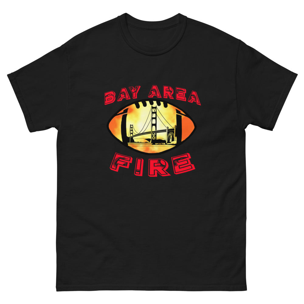 Bay Area Fire Men's heavyweight tee