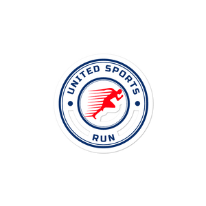 United Sports Run Sticker