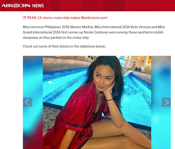 Maxine Medina, Kylie Verzosa in Glamorous Pajama party by ABS-CBN News