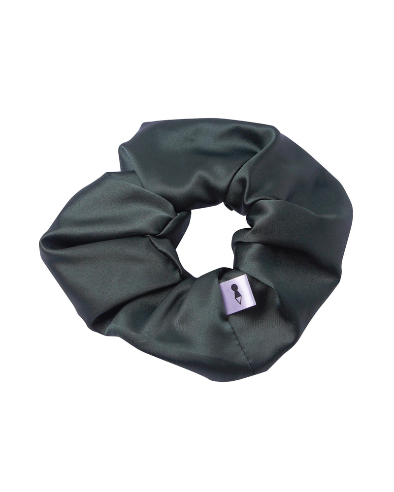 Matte Emerald Scrunchie