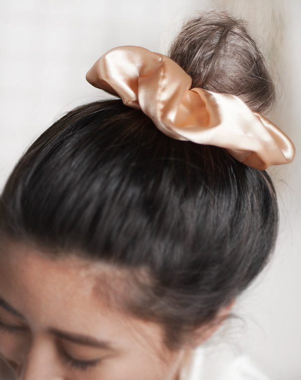 Golden Yellow Scrunchie