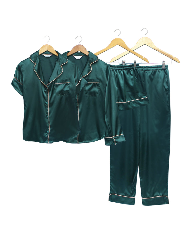 Monica Emerald Luxe Set