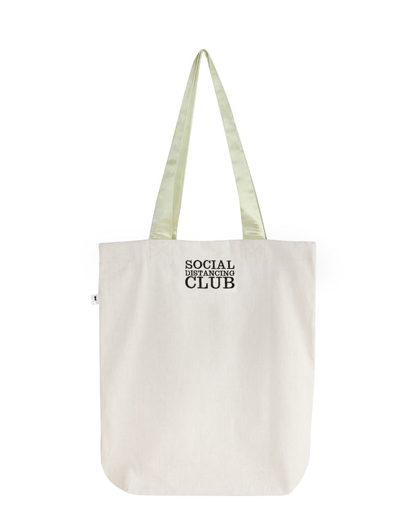 Social Distancing Club Tote Bag