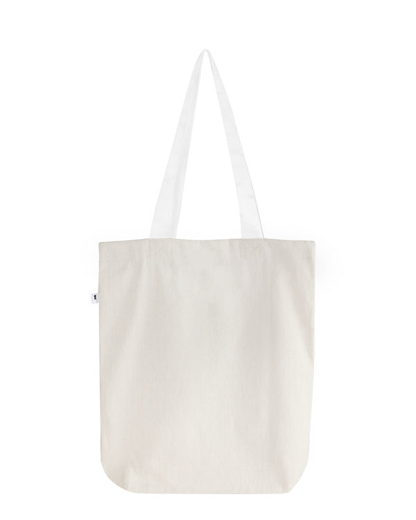 Matte Off White Tote Bag