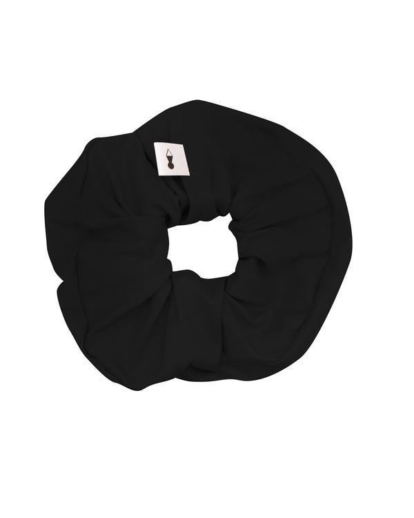 Black Loungewear Scrunchie