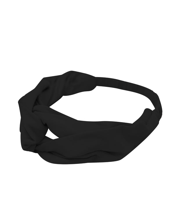 Black Loungewear Headband