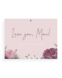 Love you, Mom Card