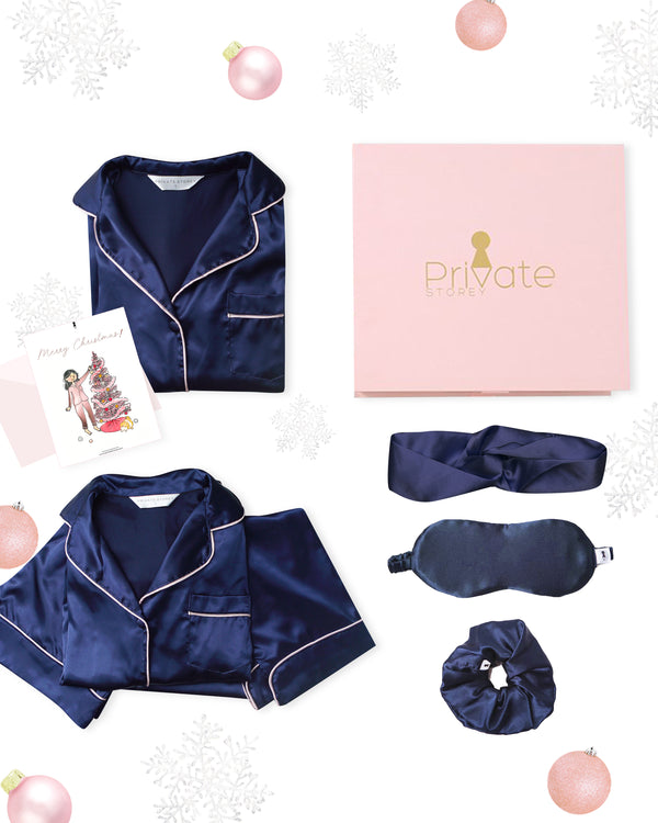Monica Midnight Luxe Set