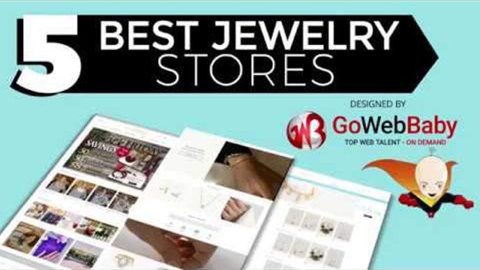 5 best Jewelry Shopify Stores designed by Gowebbaby