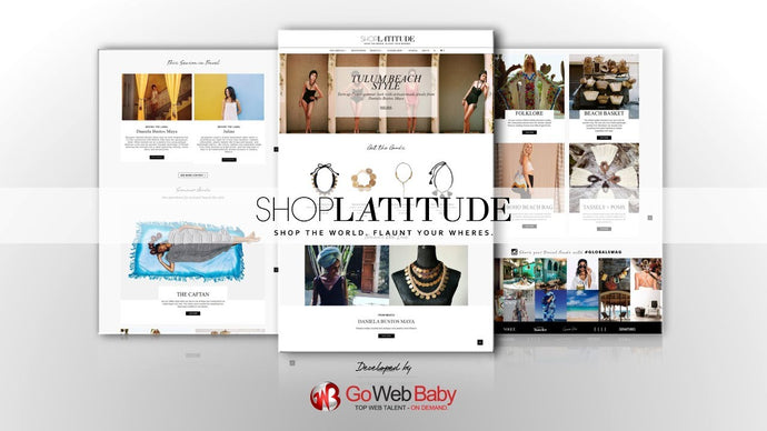 Shopify Plus Clothing and Apparel Store Designed By GoWebBaby