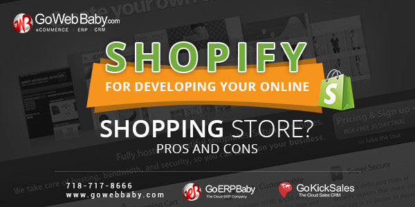 Is Shopify good for developing online store? Pros and Cons