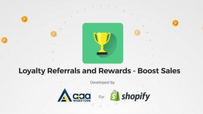 Loyalty Referrals and Rewards Shopify App