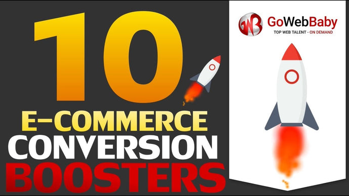 10 E-Commerce Conversion Boosters for your Online Store
