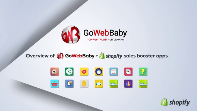 Shopify Apps Development By Gowebbaby