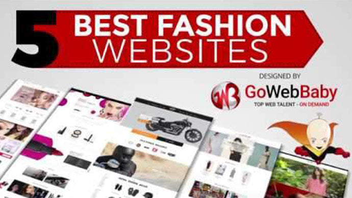 5 best Fashion Websites Design By Gowebbaby