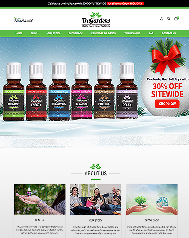 TruGarden Essential Oil Store